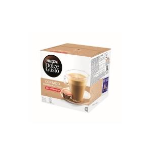 Pack de 16 doses DOLCEGUSTO de café Cortado descafeinado