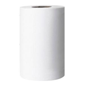 Caixa de 6 bobinas de toalhas AMOOS papel virgem 2 capas 60m branco