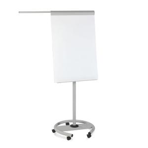 Quadro metalico superficie de escrita blanca lacada incluee braços laterales