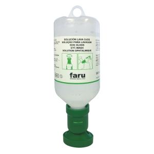 Solução lava olhos FARU de 500 ml