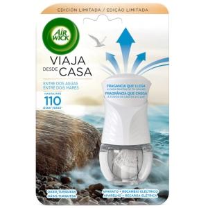 Fragrância cambiante LIFE SCENTS+recarga AIR WICK. Duração 75 dias