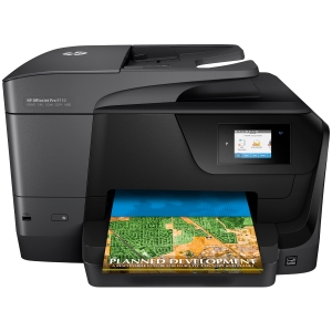 Fax multifunções tinta OFFICE JET PRO 8710 HP. Formatos: A4, A5, A6, B5