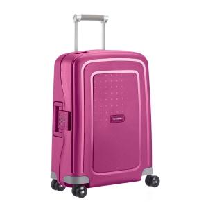 Tecido resistente para bagagem TROLLEY SAMSONITE SCURE fúcsia 40x55x20 cm