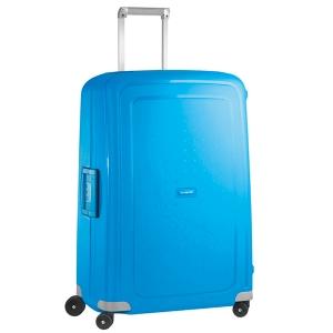 Tecido resistente para bagagem TROLLEY SAMSONITE SCURE azul 52x75x31 cm