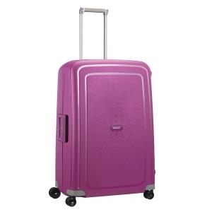 Tecido resistente para bagagem TROLLEY SAMSONITE SCURE fúcsia 52x75x31 cm