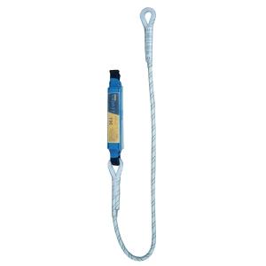 Absorvedor de energia IRUDEK 361 com corda semiestática. Comprimento 1,5 metros