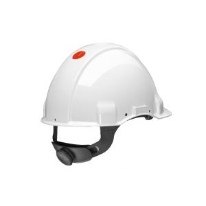 Capacete de segurança 3M Peltor G3001 NW sem ventilação. Cor branca