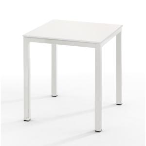 Mesa de break com medidas 70x70mm branco branco