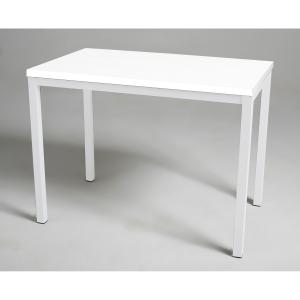 Mesa para break com medidas de 80x80 mm branco branco