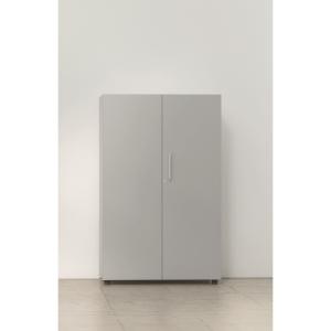Armário com portas, medidas 143x45x90 cinzento cinzento