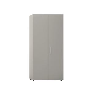 Armário com porta, medidas 195x45x90 cm cinzento cinzento