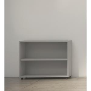 Estante de 1 prateleira com medidas 70x45x90cm cinzento cinzento