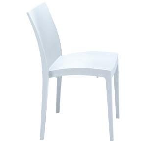 Pack de 2 cadeiras Sacup modelo cup cor branca