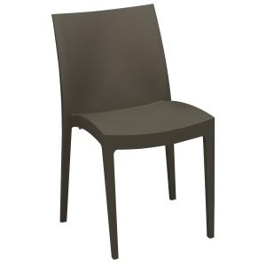 Pack de 2 cadeiras Sacup modelo cup cor antracite