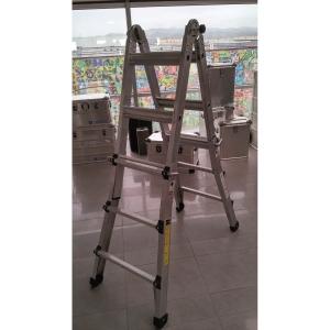 Escadote ZARGES global STAR telescópico de alumínio 4x4cm