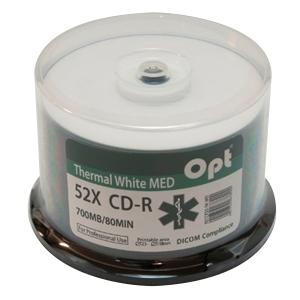 Pack de 50 CD para impressão térmica laser