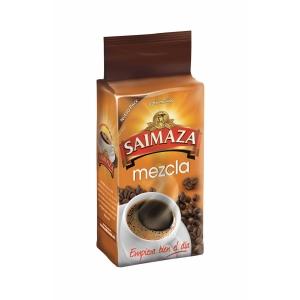 Pack de 250 g de café moído de torrefação natural e torrado
