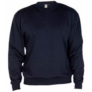Sweatshirt clássica ROLY de 280 g/m2. Cor azul-marinho. Tamanho M