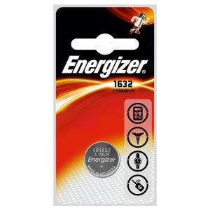 Pilha de botão ENERGIZER CR1632 de lítio voltagem de 3