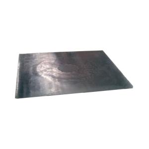 Bloqueador de esgotos de neopreno preto. Dimensões 90 x 90 cm