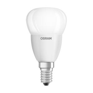 Lâmpada OSRAM PARATHOM® CLASSIC P não regulável CL P 40 5,7W/827 E14 Mate