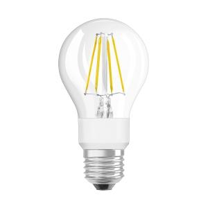 Lâmpada OSRAM PARATHOM® LED RETROFIT CLASSIC A não regulável CL A 60 6W/827 E27