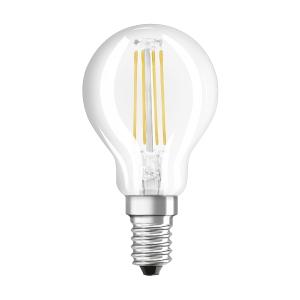 Lâmpada OSRAM PARATHOM® LED RETROFIT CLASSIC P não regulável CL P 40 4W/827 E14