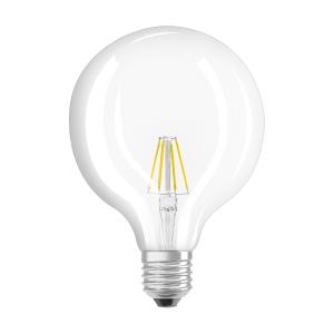 Lâmpada OSRAM PARATHOM® LED RETROFIT GLOBE não regulável 60 6W/827 E27