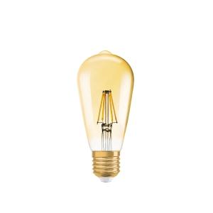 Lâmpada Vintage 1906 LED Edison Vintage 1906 LED Edison 50 W/824 E27 FIL GOLD