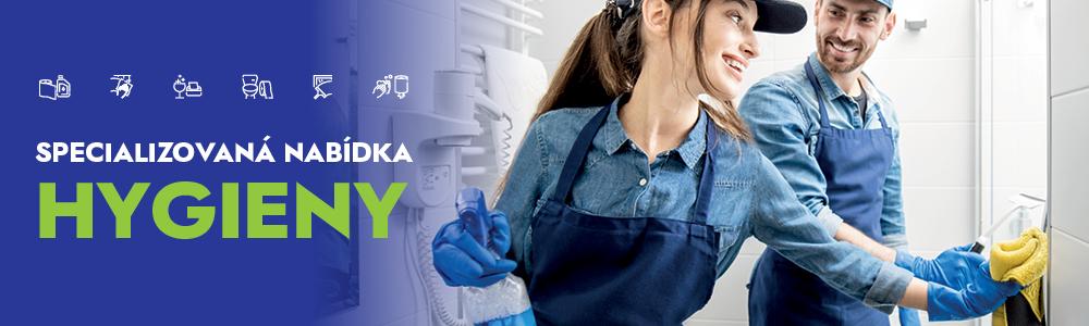 Specializovaná nabídka hygieny