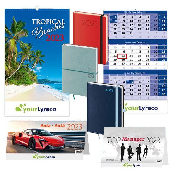 kalendáře 2021, diáře 2021