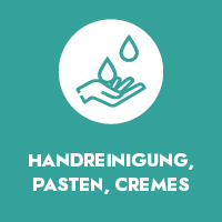 Handreinigung, Pasten, Cremes