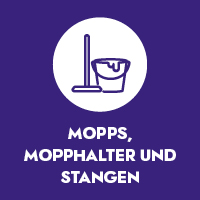 Mopps, Mopphalter und Stangen