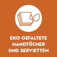 EKO Gefaltete Handtücher und Servietten