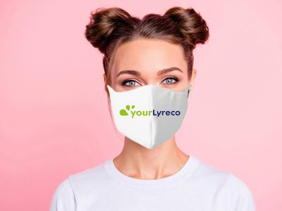 Zertifizierte Schutzmasken mit Aufdruck