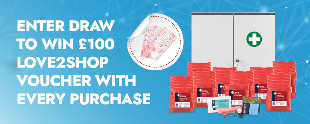 Enter draw to win £100 Love2Shop voucher with every purchase