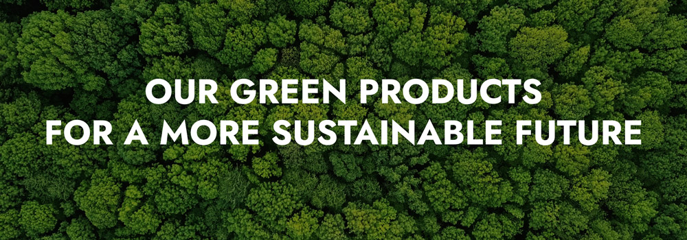 Green products for a more sustainable future
