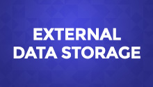 External Data Storage