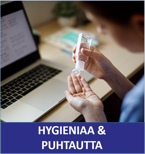 Hygieniaa ja puhatutta