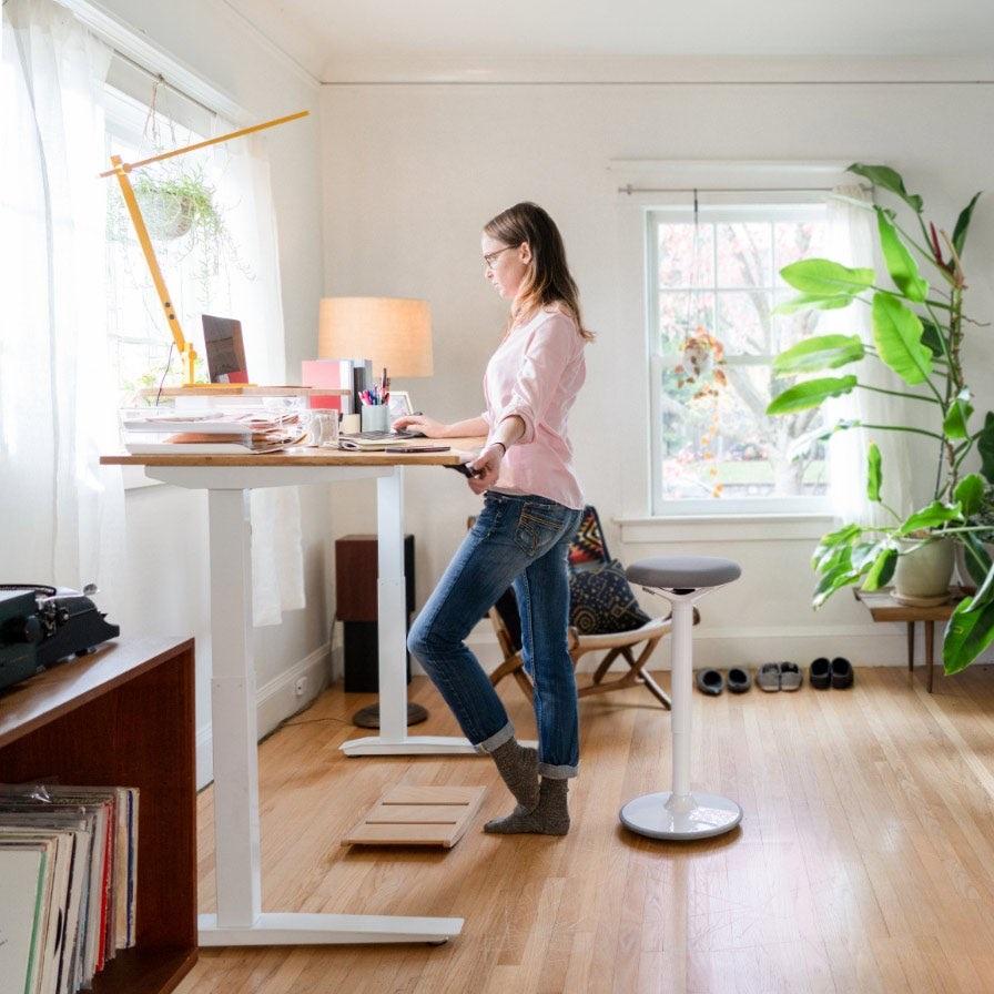 bureau à domicile ergonomique