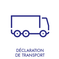 déclaration transport