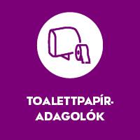 Toalettpapír-adagolók