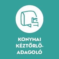Konyhai kéztörlő-adagoló