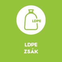 LDPE zsák