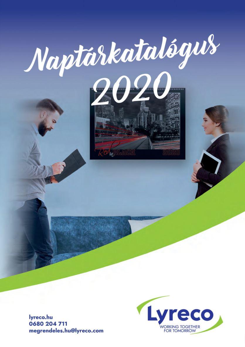 Naptárkatlógus 2020