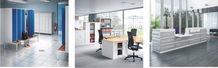 Kantoormeubilair en kantoorinrichting