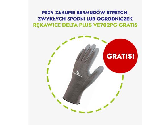 Rękawice gratis