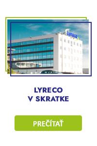 LYRECO V SKRATKE