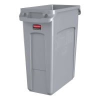 SLIM JIM GREY 60 LITRE RECYCLING CONTAINER